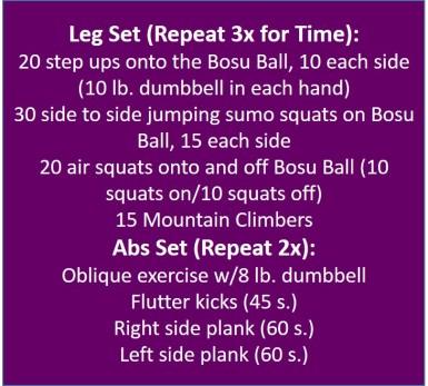 Leg Workout 10172015
